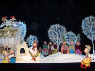 В обласному центрі показали лялькову виставу для дітей учасників АТО